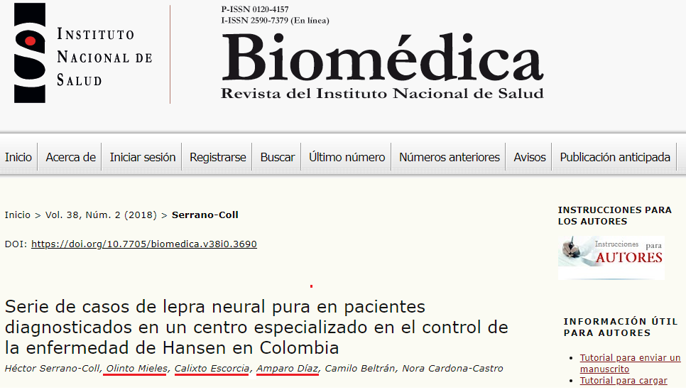 Article Published in the Biomedical Journal